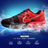 新款男鞋气垫运动鞋秋季减震透气网布鞋防臭跑步鞋休闲韩版轻便旅游鞋