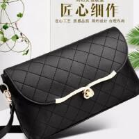 女士包包2018新款斜挎包时尚女式手包手拿包女小包单肩包女手机包 黑色