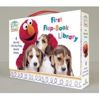英文原版 芝麻街:阿莫的世界翻翻书套装 Elmo's World: First Flap-Book Library (