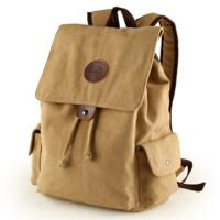 帆布包中学生书包休闲双肩包户外运动背包电脑包