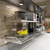 厨房置物架 壁挂 304不锈钢烤箱微波炉架层架搁板支架收纳架墙上