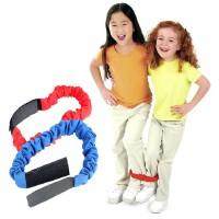 大贸商 感统训练两人三足绑脚带 奔走竞赛绳 体育用品4根 AE03061