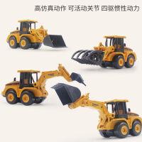 儿童玩具车男孩惯性挖掘机工程车双惯性小汽车滑行车套装1-3-6岁