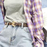 欧美时尚凹造型皮带ins超火女士腰带朋克风学生裤腰带复古潮流