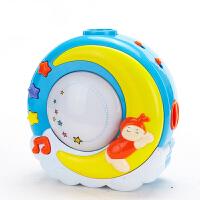 宝宝安抚投影仪儿童星空灯音乐安抚投影灯旋转婴幼儿哄睡玩具