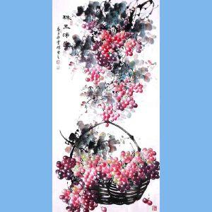 中国青年美术家协会常务理事,中国山水画院专业画家,山东省美术家协会会员,国家一级美术师高云鹏(珠玉满堂)5
