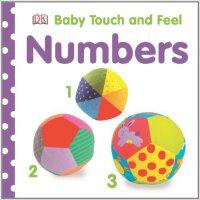 [现货]Baby Touch and Feel NUMBERS 宝宝摸摸书 数数字 DK 英文