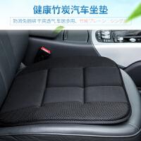 日本YAC冬季汽车竹炭单片坐垫办公通用座椅垫子日式无靠背屁股垫