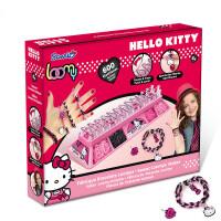 Hello kitty儿童女玩具手工编织橡皮筋手链女孩DIY编织绳手链手绳