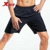 特步男士短裤五分裤宽松裤子休闲男裤薄款健身跑步运动裤男潮881229679272