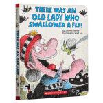 【中商原版】学乐There Was an Old Lady Who Swallowed a Fly!