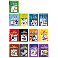 现货 Diary of a Wimpy Kid 小屁孩日记英文原版10本套装Jeff Kinney杰夫·凯尼 廖采杏推