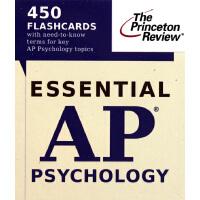【预订】Essential AP Psychology (Flashcards)