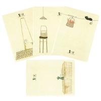 活页本硬面抄 创意韩国文具日记笔记本 记事本子B5 A5 学生文化用品