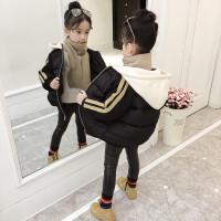 女童棉衣2017新款季加厚棉袄小女孩短款面包服外套儿童羽绒