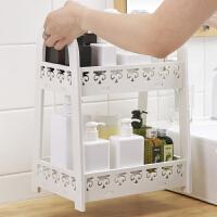 洗手台置物架洗漱台桌面收纳篮卫生间浴室化妆品架用品用具台面架