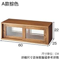 20190403020624982日式餐边柜小型全实木简易厨房餐厅餐桌柜子茶水酒柜碗筷微波炉柜