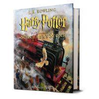 【现货】英文原版 哈利波特与魔法石 Harry Potter and the Sorcerer's Stone: The Illustrated Edition彩绘插图精装收藏版