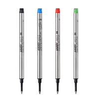 德国LAMY凌美 M63 凌美笔 Safari Alstar 宝珠笔笔芯 签字笔笔芯 替芯 黑色 蓝色