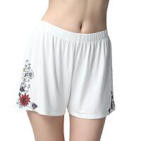 女士睡裤单条2015春夏新款薄款家居短裤莫代尔宽松阿罗裤