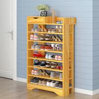 亿家达 鞋架多层实木家用组装客厅收纳鞋柜加固简易特价经济型现代