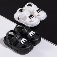 儿童凉拖鞋 婴幼儿家用居家鞋 1-3岁小男孩室内防滑女宝宝洞洞鞋