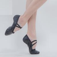 男士大码黑色舞蹈练功鞋 儿童软皮猫爪鞋 成人羊皮芭蕾舞鞋 软底舞蹈鞋