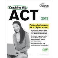 【预订】CRACKING THE ACT(附光盘2013EDITION)