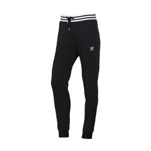 阿迪达斯adidas三叶草女子修身束腿收脚运动长裤 CZ8334