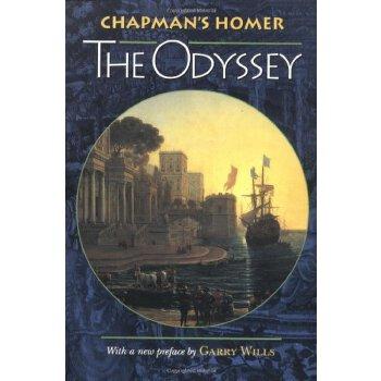Chapman's Homer: The Odyssey [ISBN: 978-0691048918] 美国发货无法退货,约五到八周到货