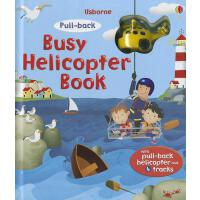 Busy Helicopter Book [With Helicopter] 轨道游戏书:直升机