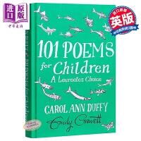 【中商原版】101 Poems for Children Chosen by Carol Ann Duffy 埃米莉・格