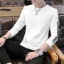 卫衣男长袖圆领套头学生打底衫青少年长袖T恤青年大学生韩版外套W226