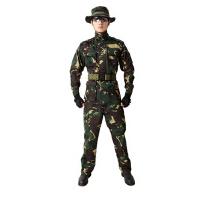 春秋款特种兵训练迷彩服套装男野战丛林作训服户外迷彩服学生军训套装耐磨耐脏迷彩服套装