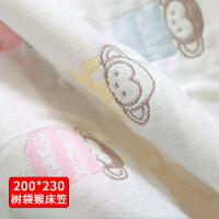 可洗纱布隔尿垫婴儿床笠隔尿床单垫超大透气防水1.8儿童床笠大床 大号