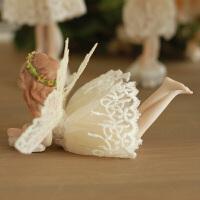 车内饰品摆件欧式田园装饰品客厅树脂娃娃车载摆件礼物梦幻花仙子