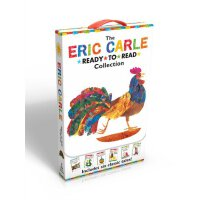 【现货】英文原版 The Eric Carle Ready-To-Read Collection 艾瑞・卡尔6册 全彩