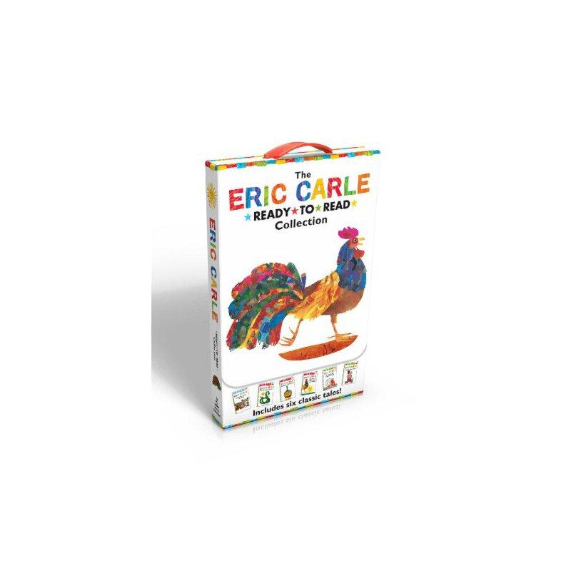 【现货】英文原版 The Eric Carle Ready-To-Read Collection 艾瑞·卡尔6册 全彩平装读本套装  3-7岁 儿童礼品书套装 国营进口!品质保证!