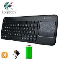 Logitech/罗技 K400r 多媒体无线3.5寸触控键盘 K400升级键盘 全新盒装正品行货