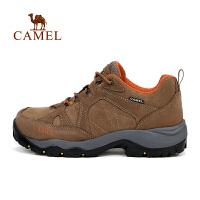 camel骆驼户外徒步鞋 男款防滑减震透气登山徒步鞋