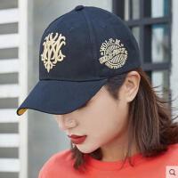 帽子女网红同款时尚韩版潮刺绣嘻哈棒球帽子户外运动新品防晒男士鸭舌帽