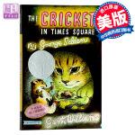 英文原版 Cricket in Times Square ( Chester Cricket and His Frie