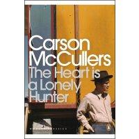 心是孤独的猎手英文原版小说The Heart Is a Lonely Hunter 企鹅经典