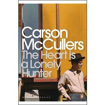 心是孤独的猎手英文原版小说The Heart Is a Lonely Hunter 企鹅经典 ISBN:9780141185224
