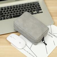 苹果小米华为笔记本电脑鼠标充电器电源线配件收纳包收纳袋便携手包笔记本配件收纳包便携袋子