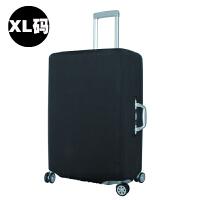 拉杆箱套保护套 耐磨旅行箱防尘罩弹力加厚20/24/28/30寸 黑色XL 29-31寸