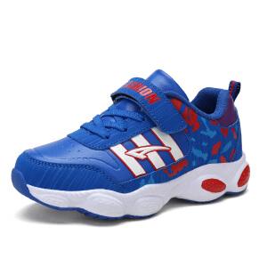 儿童运动鞋男童鞋春秋季2018新款小学生中大童休闲跑步鞋男童鞋子