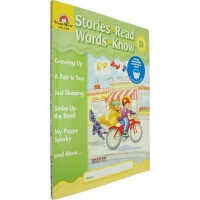Stories to Read,Words to Know Level D 英文原版 美国加州教材 Evan Moor