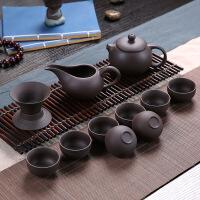 【家装节 夏季狂欢】陶瓷茶具套装功夫整套冰裂茶杯茶壶茶道茶盘泡茶家用 7件