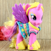 小马宝莉 彩虹装饰 宇宙 紫悦 烁烁音韵公主女孩玩具礼物